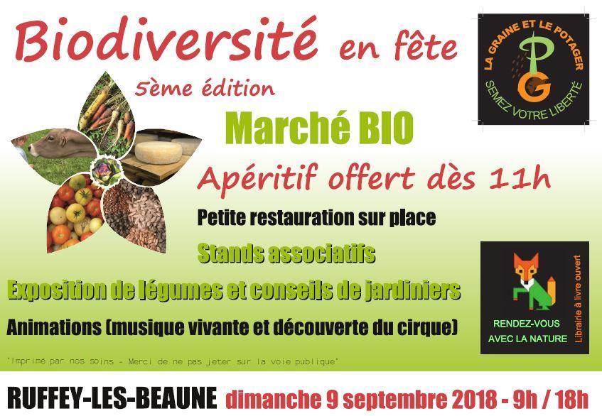 Affiche biodiversite 2018