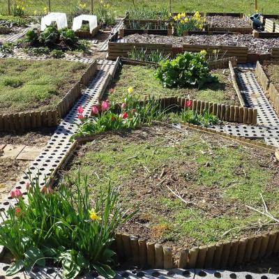 Jardin en avril 1